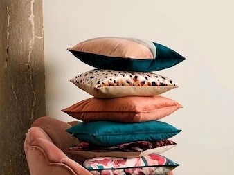Cushion trends for your living room, The Linens Show