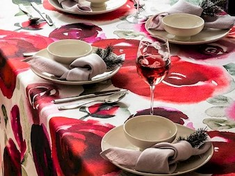Valentine's Day Table Styling with Pentik, The Linens Show