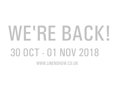 We're back! The Linens Show returns October 2018